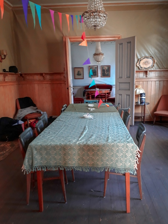 The dining-room, post-party